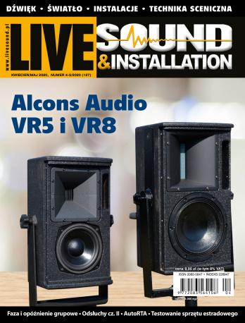 Live Sound & Installation kwiecień - maj 2020