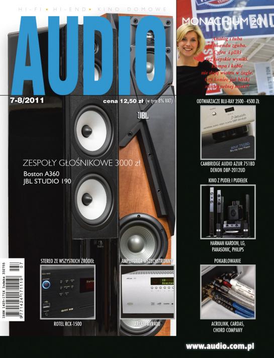Magazyn Audio 07-08/2011