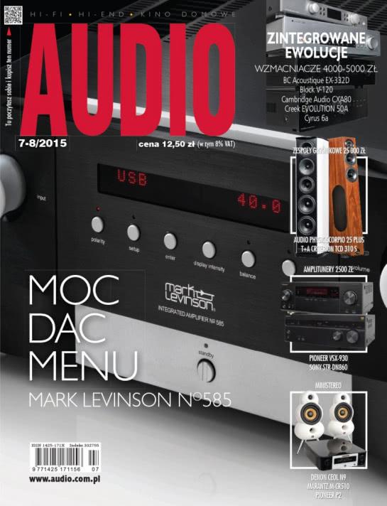 Magazyn Audio 07-08/2015