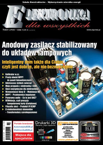 Elektronika dla Wszystkich 7/2021