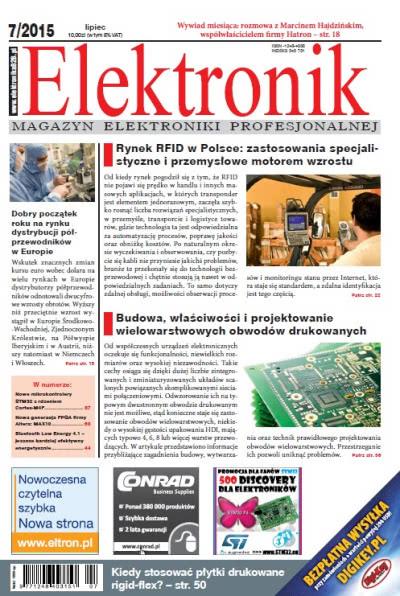 Elektronik - miesięcznik - prenumerata roczna już od 10,00 zł